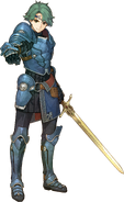 Artwork Alm - Fire Emblem Echoes