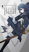 Calendario Fire Emblem Heroes - Lucina