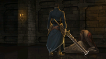 Ashnard asesina a su padre