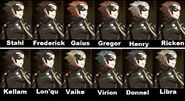 Gerome Hair Collage