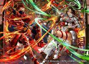 Saizo R & Kagero R joined art - Mayo