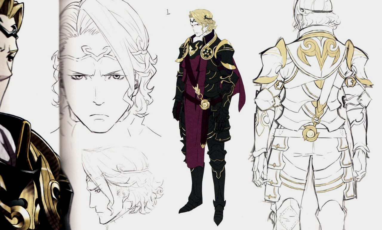 Coolest Anime Character Design : 图像 xander concept art 聖火降魔錄 wiki fandom