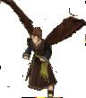FE10 Ulki Hawk (Untransformed) Sprite