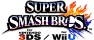 Super Smash Bros 3DS Wii U logos