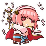 Sakura loving priestess pop02