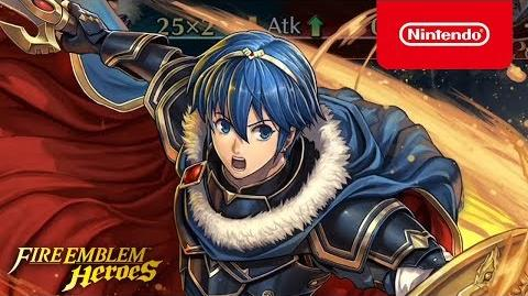 Fire Emblem Heroes - Legendary Hero (Marth Hero-King)