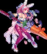 Marisa Crimson Rabbit Damaged