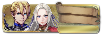 Banner Edelgard and Dimitri