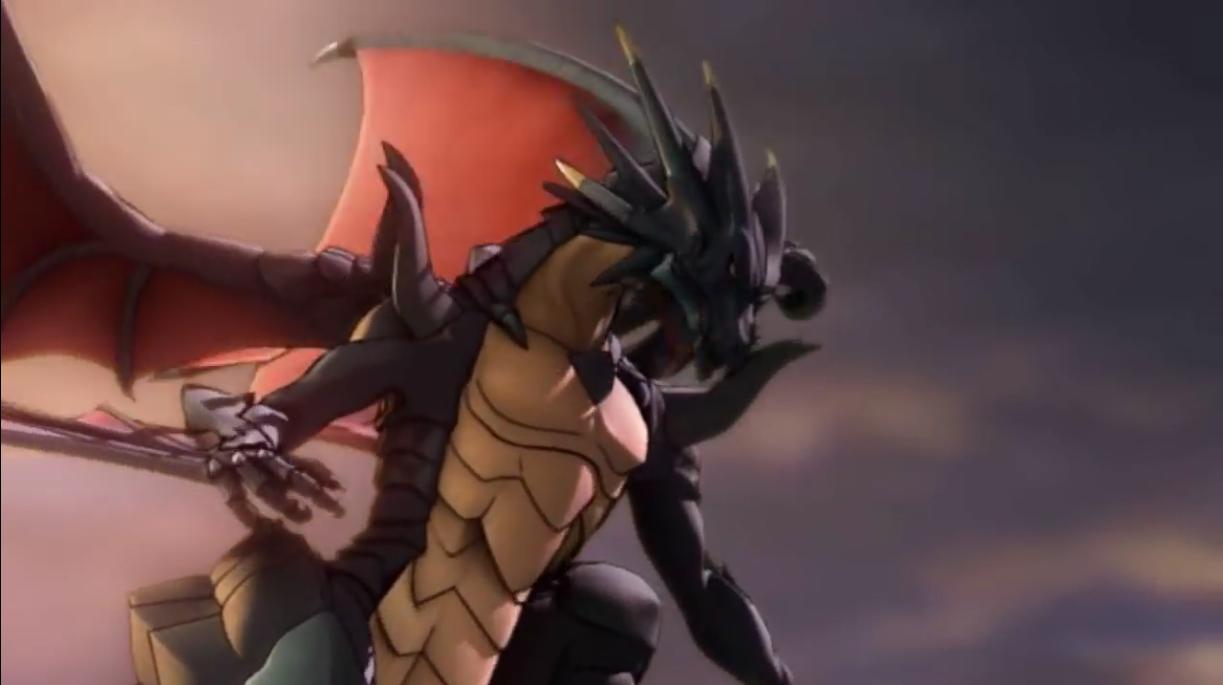Black Dragon Laguz Attacks