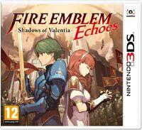 Caja de Fire Emblem Echoes (Europa)
