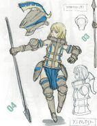 Cavalier female
