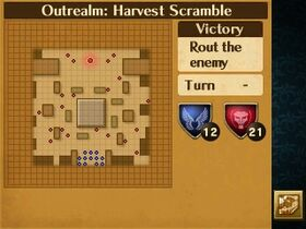 Harvest Scramble Map