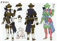 3H Female Sniper concept