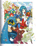 Marth and Caeda Wed (Memorial Book Archanea Chronicle)