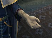Marca del pacto de sangre de Pelleas