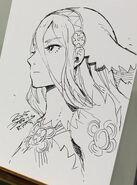 Kozaki Aqua live sketch