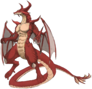 Red Dragon art
