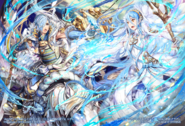 Shigure R+ and Azura R+ joined-art