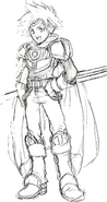 Concept art of Roy 2