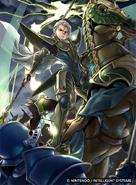 Fernand as a Paladin in Fire Emblem 0 (Cipher)