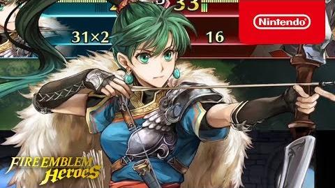 Fire Emblem Heroes - Legendary Hero (Lyn- Lady of the Wind)
