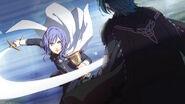 Yuri attacks M!Byleth