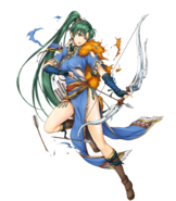 Brave Heroes Lyn Damaged