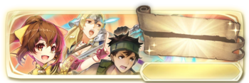 Banner Delthea, Mathilda and Gray (Special)
