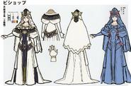 3H Female Bishop concept