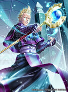 Brady's artwork as a Priest in Fire Emblem Cipher