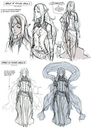 Awakening Naga Concept Art