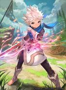 Male Kana cipher art