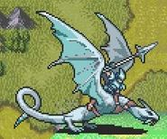 Cormag as a Wyvern Knight