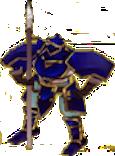 FE9 Gatrie Knight Sprite