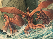 Red Dragons Move Ship FE9