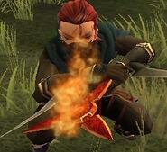 FE14 Flame Shuriken
