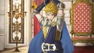 Captura de Rowan en palacio - Fire Emblem Warriors