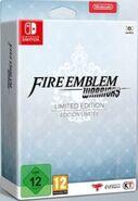 Caja censurada de la edición especial de Fire Emblem Warriors (Europa)