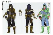 3H Male Archer concept