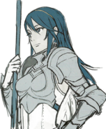 Cordelia Concept Art Blue Hair