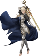 Artwork completo Corrin mujer Fire Emblem Warriors
