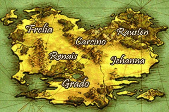 List of chapters in fire emblem the sacred stones fire emblem magvel world map gumiabroncs Choice Image