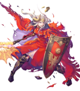 Edelgard Flame Emperor Damaged