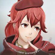 Avatar de Anna en la cuenta de Twitter de Fire Emblem Warriors