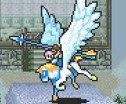 Florina as a Pegasus Knight