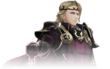 Artwork parcial Xander Fire Emblem Warriors