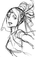 Olivia sketch 2