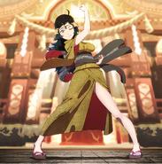 Artwork CG de Ophelia del DLC Estival de Hoshido - Fire Emblem Fates