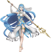 Artwork completo Azura Fire Emblem Warriors
