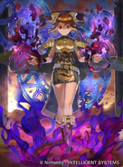 Possessed Delthea as a Mage in Fire Emblem 0 (Cipher)